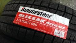 Bridgestone Blizzak Revo GZ. Зимние, без шипов, 2012 год, без износа, 4 шт