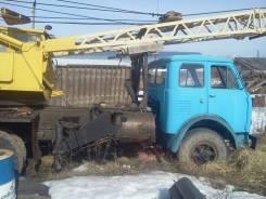 КС-3562А, 1976. Автокран КС-3562А на базе МАЗ 500, 10 000 кг., 10 м.
