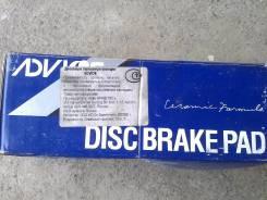 Колодки тормозные дисковые. Subaru Impreza WRX, GC8, GC8LD3, GF8, GF8LD3 Subaru Forester, SF5, SF9 Subaru Legacy, BD5, BD9, BE5, BE9, BEE, BG5, BG9, B...