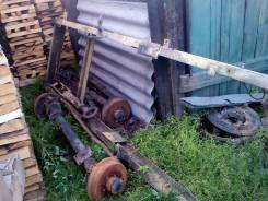 Рама двухосная рессорная под колеса от УАЗ (колес нет )