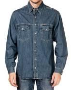 Рубашки джинсовые. 46
