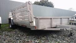 Трейлер для перевозки 2х квадроциклов, снегохода, багги. Aluma, США. Г/п: 657 кг., масса: 250,00кг.