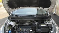 Упор капота. Hyundai Solaris