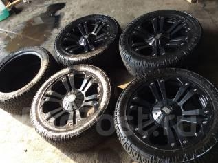 Комплект колес 305/45 R22 Nitto Dune Grappler на литье. 9.5x22 8x170.00 ET18 ЦО 125,0мм.