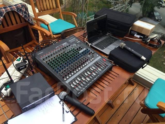 Прокат звукового оборудования. Комплекты. Продажа, монтаж.