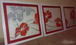 Серия картин, цветы