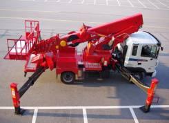 Hyundai. Автогидроподъемник ПСС-132.35 на шасси -120 (4х2)(Юж. Корея), 2 700 куб. см., 35 м. Под заказ