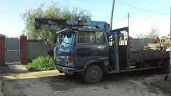 Hino Ranger. Продам эвакуатор HINO Ranger с краном 1992г. вып., 7 000 куб. см., 2 900 кг., 9 м.
