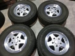 Продается комплект литых дисков Bridgestone CV928 R16 #1429. 8.0x16, 5x150.00, ET45
