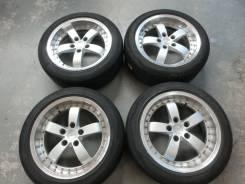 Продается комплект литых дисков Bridgestone Kaiser R17 #1472. 8.0x17, 5x114.30, ET37
