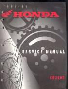 Service Manual Honda CR250R 1997-1999