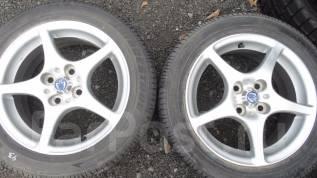 Продам пару летних шин на литье 185/55R15 (89). 6.0x15 4x100.00 ET45 ЦО 54,0мм.