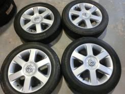Продается комплект оригинальных литых дисков Nissan Elgrand R17 #1517. 6.5x17, 5x114.30, ET45