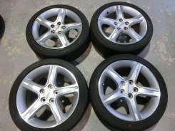 Продается комплект оригинальных литых дисков Toyota Altezza R17 #1525. 7.0x17, 5x114.30, ET50