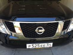 Решетка радиатора. Nissan Patrol