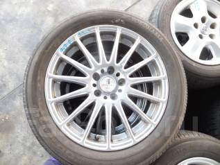 Продам комплект летних колёс 225/55/R18. 7.5x18 5x100.00, 4x114.30 ET53