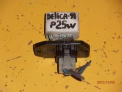 Сопротивление мотора отопителя. Mitsubishi Delica