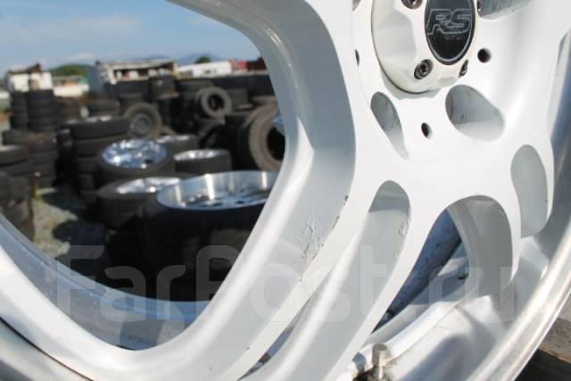 RS Wheels. 8.0x18, 5x114.30, ET35, ЦО 73,1мм.