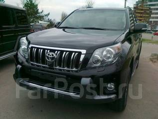 Накладка на бампер. Toyota Land Cruiser Prado