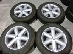 Продается комплект оригинальных литых дисков Nissan Murano R18 #1543. 7.5x18, 5x114.30, ET40