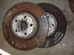 Диск тормозной. Toyota Avensis, AZT251 Двигатель 2AZFSE
