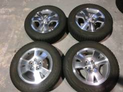 Продается комплект оригинальных литых дисков Toyota Voxy R15 #1546. 6.0x15, 5x114.30, ET50