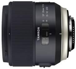 Новинка! Объектив Tamron SP AF 35mm f/1.8 Di VC USD для Canon/Nikon. Для Canon, диаметр фильтра 67 мм