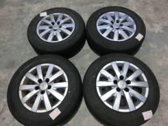 Продается комплект штампованных дисков с колпаками Toyota R16 #1582. 6.0x16, 5x114.30, ET45. Под заказ