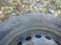 Bridgestone Noranza 2 EVO. Зимние, 2006 год, износ: 70%, 2 шт