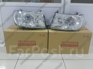 Фара. Toyota Land Cruiser, HDJ101, HDJ101K, UZJ100, UZJ100L, HDJ100L, J100, FZJ100, UZJ100W, FZJ105, HDJ100 Двигатели: 1HDT, 1HDFTE, 1FZFE, 2UZFE