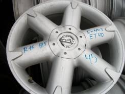 Nissan. 7.5x16, 5x114.30, ET40