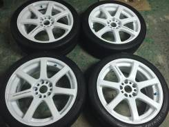 Work Emotion XT7. 7.5x18, 5x114.30, ET35, ЦО 73,0 мм.