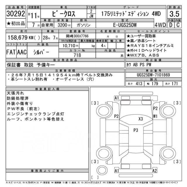 Isuzu VehiCross. UGS25DW, 6VD1