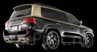Накладка на бампер. Lexus LX570, URJ201W, URJ201 Двигатель 3URFE. Под заказ