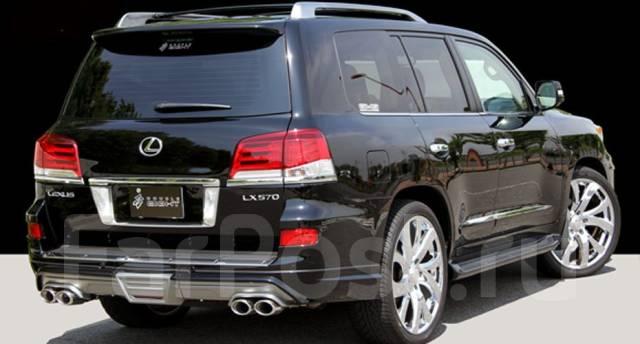 Комплект накладок на бамперы Double Eight для LX570 2012+. Lexus LX570, URJ201, URJ201W Двигатель 3URFE. Под заказ
