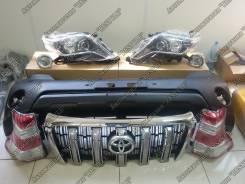 Обвес кузова аэродинамический. Toyota Land Cruiser Prado, GRJ150L, GRJ150, GDJ150L, GDJ150W, TRJ150W, KDJ150L, GRJ150W, TRJ150 Двигатели: 1KDFTV, 2TRF...