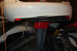 Юбка заднего бампера с светоотражателями. Audi A1, 8X1, 8XA Двигатели: CAXA, CBZA, CNVA