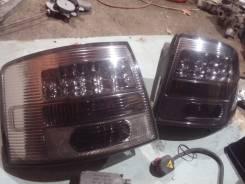 Светодиодные тюнинг фары на ауди а6. Audi A6