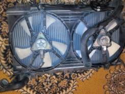 Радиатор охлаждения двигателя. Nissan Presea, HR11, PR11, R11 Двигатель GA15DE