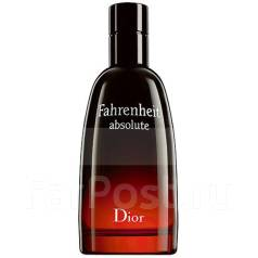 Мужской аромат Christian Dior Fahrenheit Absolute 100ml edT Tester