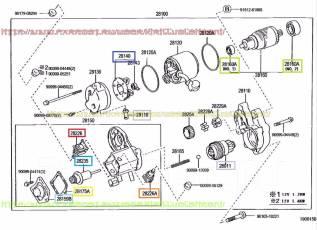 Стартер. Toyota: Windom, Corona, Regius Ace, Lite Ace, Scepter, Aristo, Ipsum, Avensis, Corolla, Altezza, Yaris Verso, Tercel, Dyna, Tundra, Regius, S...