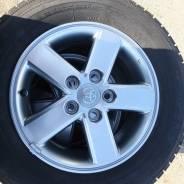 Оригинальные колеса Toyota ISIS, VOXY, NOAH, SAI, MARK x. 6.0x15 5x114.30 ЦО 50,0мм.