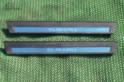 Порог пластиковый. Subaru Legacy B4, BM9 Subaru Legacy, BM9