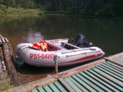 Badger. Год: 2012 год, длина 3,50м., двигатель подвесной, 15,00л.с., бензин