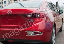 Накладки на отражатели Mazda Axela 2013-2015