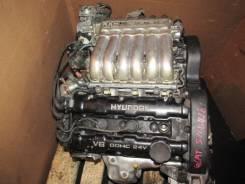 Двигатель в сборе. Hyundai Sonata Hyundai Galloper Mitsubishi Pajero, V65W, V68W, V60, V63W Двигатель 6G72