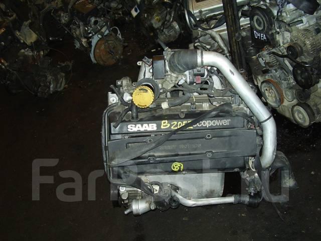 Двигатель Saab B205E Saab 9-3, Saab 9-5 2.0 Turbo