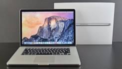 "Apple MacBook Pro 15 with Retina display Mid 2015 MJLQ2 Core i7 2200. 15.4"", 2 200,0ГГц, ОЗУ 8192 МБ и больше, диск 256 Гб, WiFi, Bluetooth, аккумуля..."