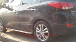 Порог пластиковый. Hyundai ix35