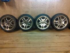 Продам колёса, диски Япония 114х3х5 R18 >резина лето Nankang 225х45R18. 7.5x18 5x114.30